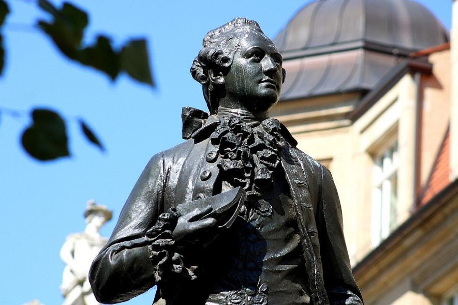 Johann Wolfgang von Goethe Geheimratsecken